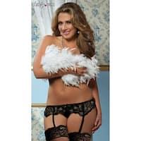 Plus Size Lace Affair Garter Belt