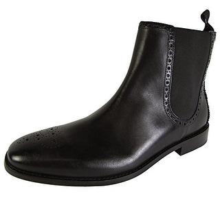 Cole Haan Mens Giraldo Medallion Chelsea II Ankle Boot Shoes