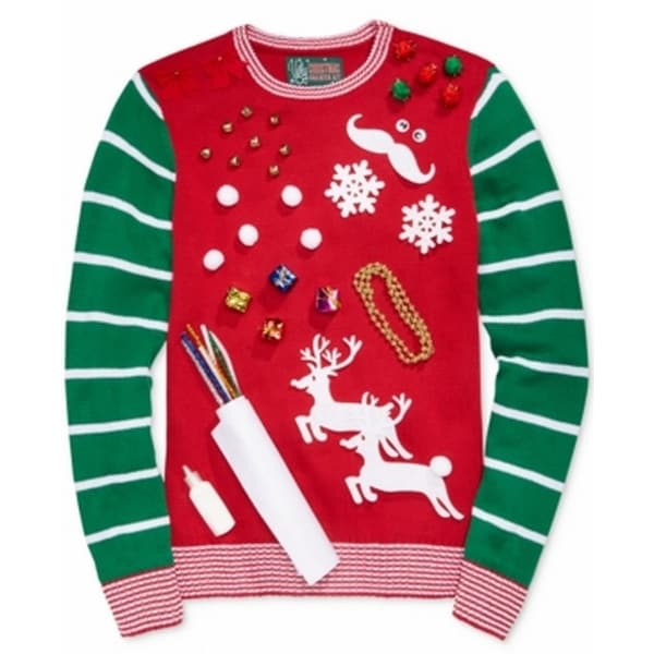 Shop Retrofit New Red Mens Size Large L Diy Ugly Christmas Sweater