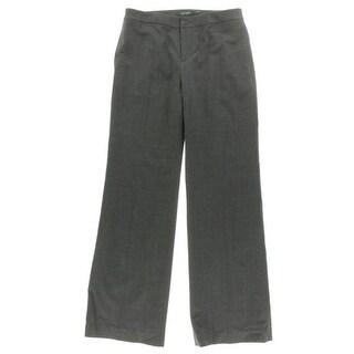 Lauren Ralph Lauren NEW Gray Womens Size 10 Wool Blend Dress Pants