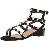 Steve Madden Womens Crowne Open Toe Casual Ankle Strap Sandals