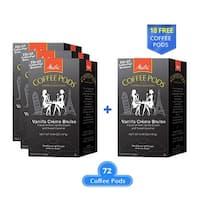 Melitta 75416 Vanilla Creme Brulee 18 Counts (3-Pack) Vanilla Creme Brulee Coffee Pods