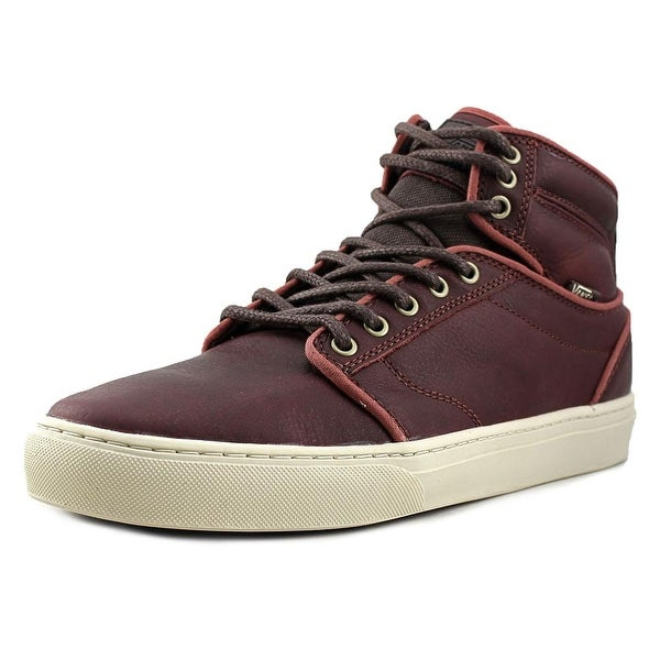 e7fd6d37a3 Shop Vans Alomar Round Toe Leather Sneakers - Free Shipping Today ...