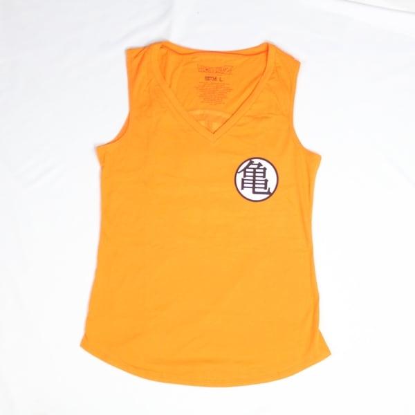 Dragon Ball Z Goku Kame Symbol Orange Tank Top Free Shipping On