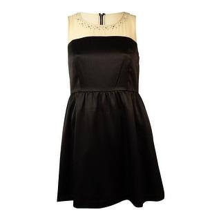 Kensie Women's Sleeveless Pleated Top Dress - l