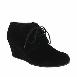 Red Circle Footwear 'Tammy' Lace up Wedge Bootie