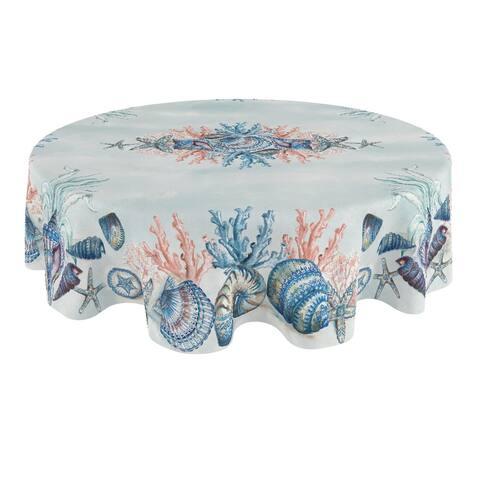 Venice Beach 70 Round Tablecloth