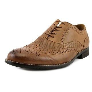 Nunn Bush Tristan   Round Toe Leather  Oxford