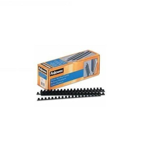"""Fellowes 52325 0.5"""" Plastic Binding Combs 100 Pack"""