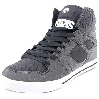 Osiris Clone Men Round Toe Synthetic Black Skate Shoe