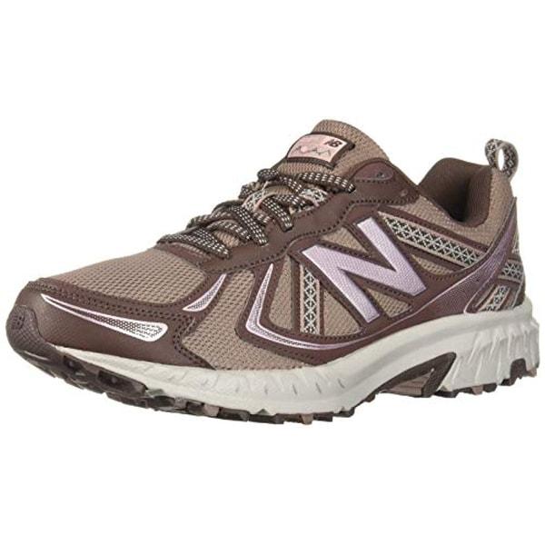 official photos 6fc19 cb4ed New Balance Women's 410v5 Cushioning Trail Running Shoe,  Latte/Macchiatto/Himalayan Pink, 7 B US