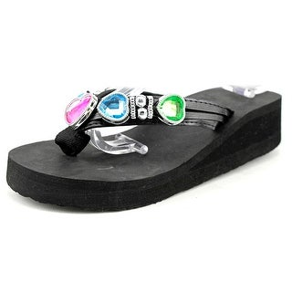 Famous Name Brand FG-6297 Youth Open Toe Synthetic Thong Sandal