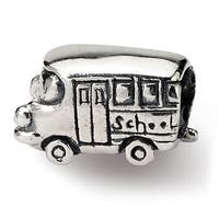 Sterling Silver Reflections Kids Bus Bead (4mm Diameter Hole)