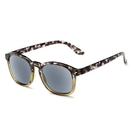 Readers.com The Avenue Reading Sunglasses Retro Square Reading Glasses
