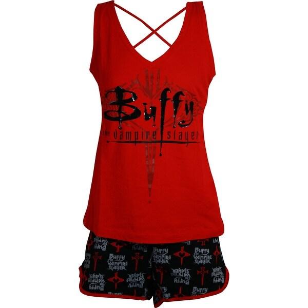 c485dafbda44 Shop Buffy the Vampire Slayer 20th Anniversary Pajama Set - Free Shipping  On Orders Over $45 - Overstock - 20302196