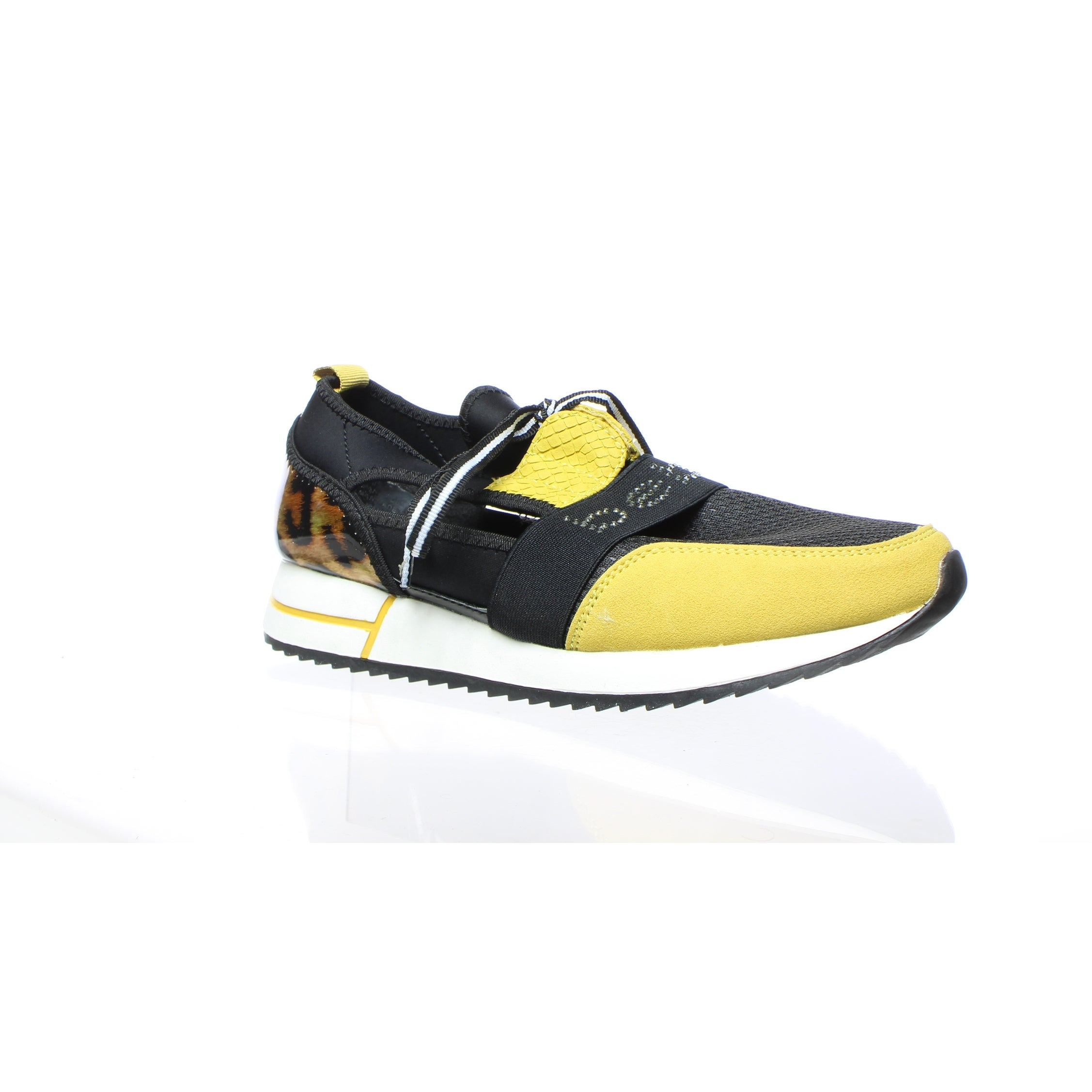Shop bebe Womens Brienna Black/Yellow