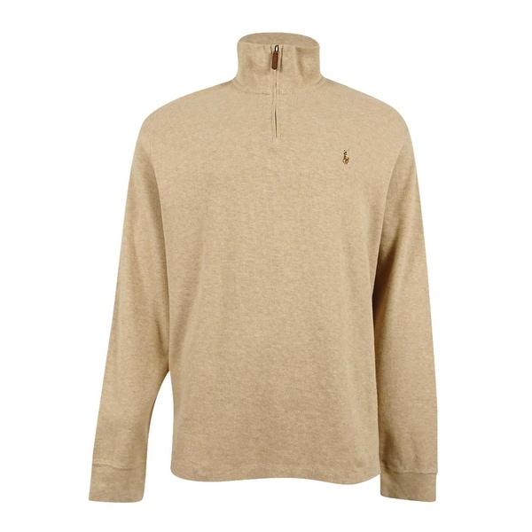 2933877db Shop Polo Ralph Lauren Men s Estate Rib Half Zip Sweater - Free ...