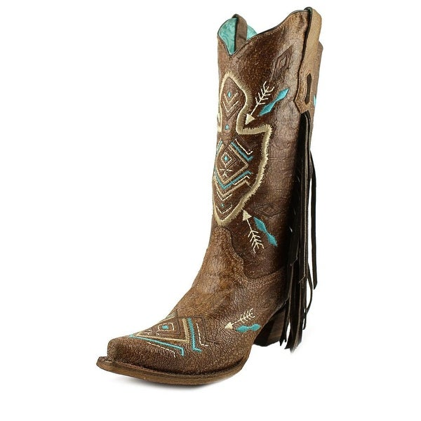 Corral A3310 Women  Pointed Toe Leather Brown Western Boot