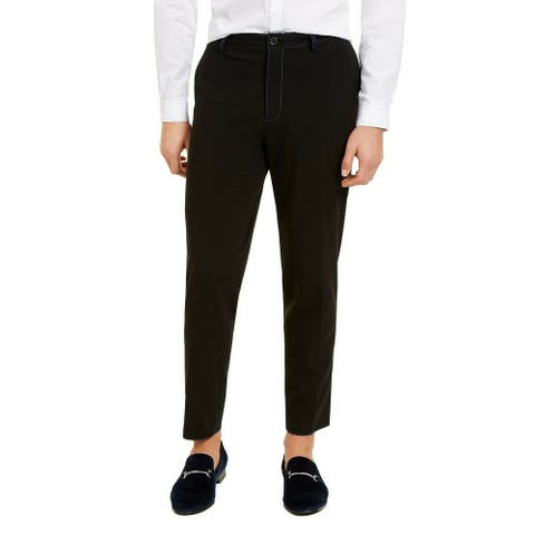 INC International Concepts Men's Harry Tapered Fit Trousers Size Small - Medium