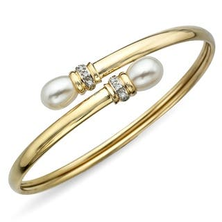 6.5 mm Pearl Bangle Bracelet with Diamonds in 10K Gold|https://ak1.ostkcdn.com/images/products/is/images/direct/5fcbf40ab42fdda28f2d568027fb25608f294869/6.5-mm-Pearl-Bangle-Bracelet-with-Diamonds-in-10K-Gold.jpg?impolicy=medium