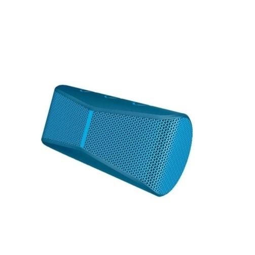 Logitech - 984-000402 - X300 Wrls Mobile Spkr Blue