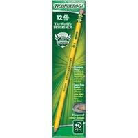 Ticonderoga Presharpened #2 Pencils 12/Pkg-Yellow