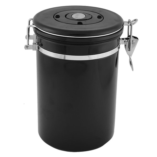 Stainless Steel Preserve Seal Bottle Coffee Storage Canister Pot