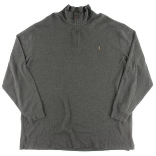 Polo Ralph Lauren Mens Big & Tall Pullover Sweater 1/2 Zip Logo https://ak1.ostkcdn.com/images/products/is/images/direct/5fce27c1b500c4831af25093a8711abdd4af21a8/Polo-Ralph-Lauren-Mens-Big-%26-Tall-Pullover-Sweater-1-2-Zip-Logo.jpg?impolicy=medium