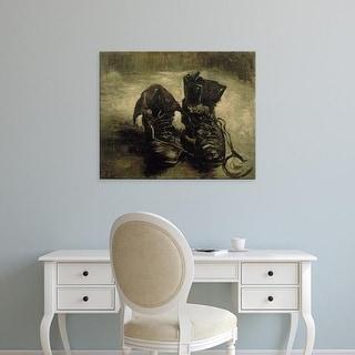 Easy Art Prints Vincent Van Gogh's 'Boots' Premium Canvas Art