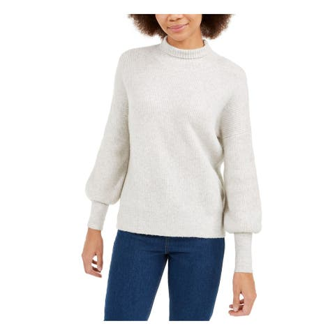 FRENCH CONNECTION Womens Gray Long Sleeve Turtle Neck Sweater Size S