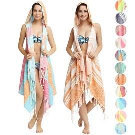 Eshma Mardini Swimwear Bikini Hooded Cover-Up Beach Dress - Hoodie (4 options available)