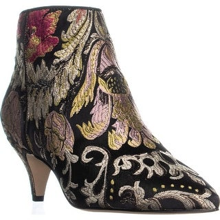 Sam Edelman Kinzey Ankle Boots, Black Multi Mettalic Jac