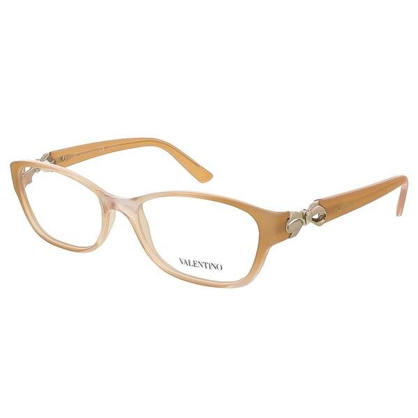 Valentino V2621 744 Gradient Honey Rectangular Valentino Eyewear - 52-16-125