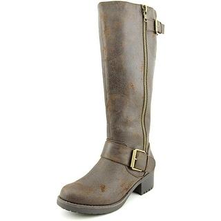 Mia Peterson Women Brown Boots