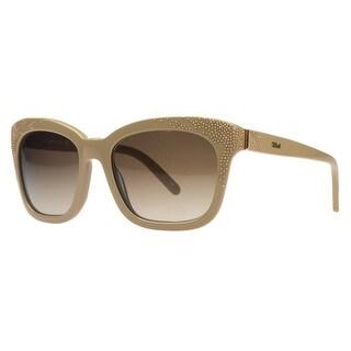 Chloe CE626/S 290 Nude Cateye Sunglasses - 55-19-135