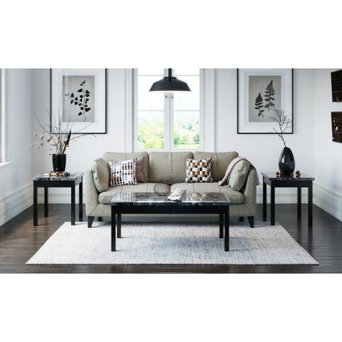 Lenox 3-Piece Coffee Table Set