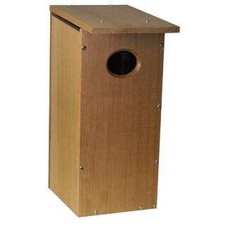 Heatha WDH-1 edar Wood Duk House Kit with Slanted Roof & Ventilation Hole