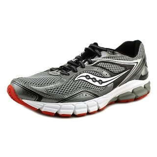 Saucony Progrid Lancer Men Round Toe Synthetic Gray Running Shoe