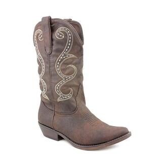 American Rag Dawnn Women Pointed Toe Synthetic Brown Western Boot
