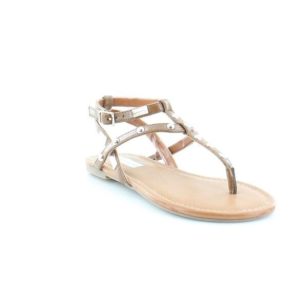 INC Mirabai Women's Sandals & Flip Flops Cognac