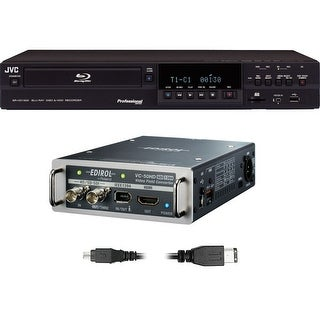 JVC SR-HD1500 HD-SDI Converter/Recorder Kit (International Model)