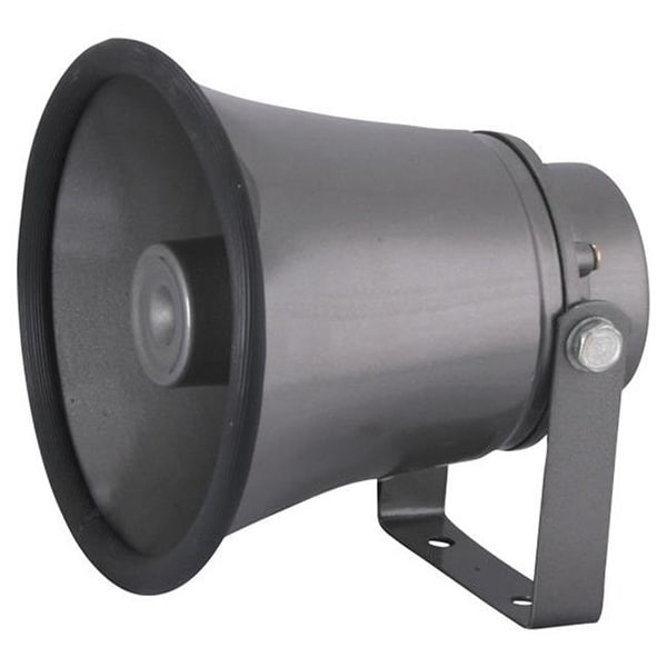 6.3 in. Indoor - Outdoor 25 Watt PA Horn Speaker