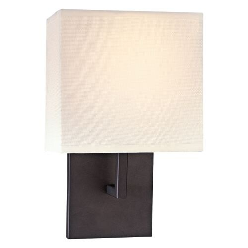 """Kovacs GK P470 1 Light 11.25"""" Height ADA Compliant Wall Sconce with Square Shade"""
