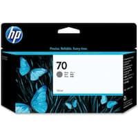 HP 70 130-ml Gray DesignJet Ink Cartridge (C9450A) (Single Pack)