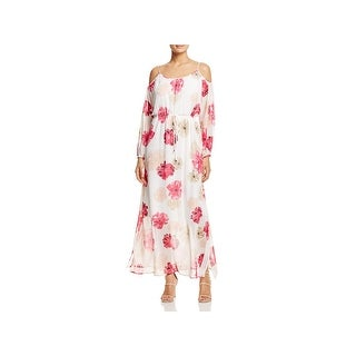 Calvin Klein Womens Maxi Dress Full Length Maxi