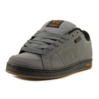 Etnies Kingpin Round Toe Leather Skate Shoe