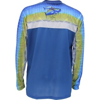 Guy Harvey Mens Tun Tun Long Sleeve Performance Shirt
