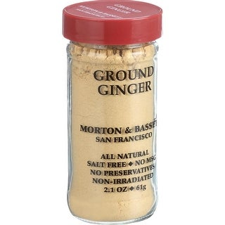Morton & Bassett - Ground Ginger ( 3 - 2.1 OZ)