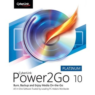 Cyberlink Power2Go 10 Platinum for Windows