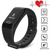 AGPtek Waterproof Fitness Tracker Blood Pressure Heart Rate Sleep Monitor Calorie Data Sports Wristband for Android IOS
